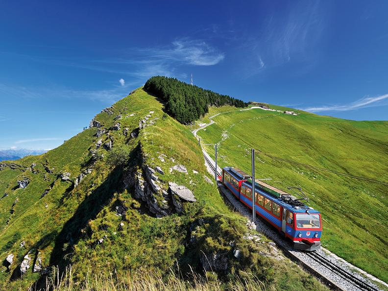 Image 0 - Cogwheel railway Monte Generoso