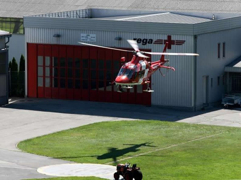 Image 0 - Visit the Rega Base Ticino Swiss Air-Rescue