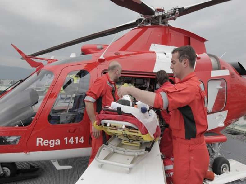 Image 1 - Visit the Rega Base Ticino Swiss Air-Rescue