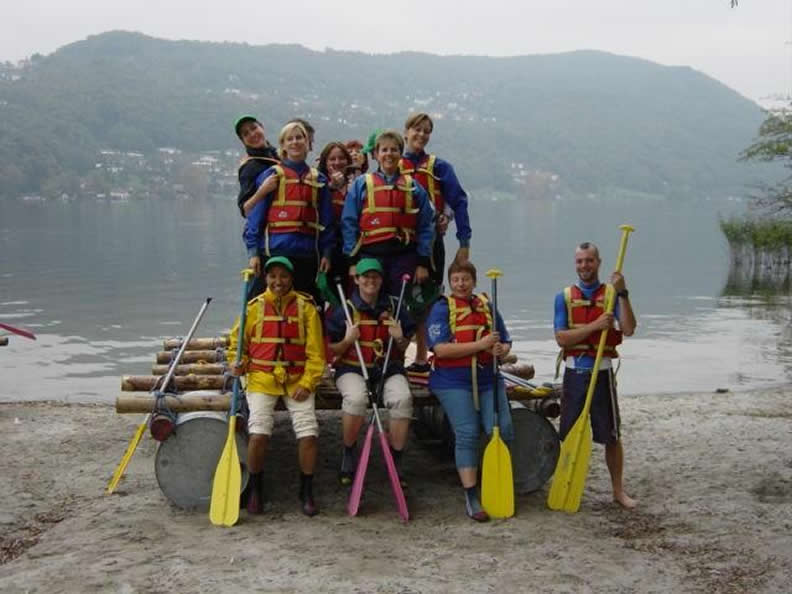 Image 1 - Raft Building