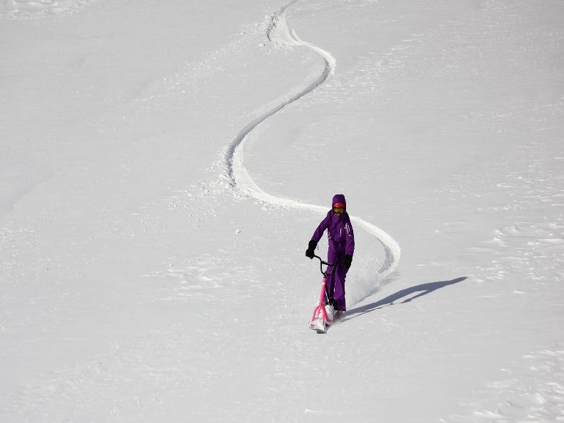 Image 1 - Snowscoot: Trend sportarten im Schnee