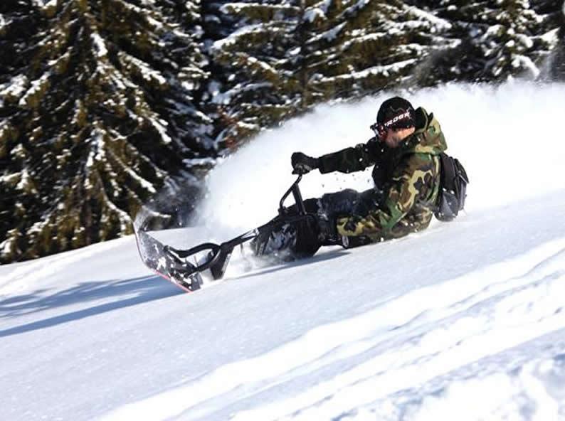 Image 5 - Snowscoot: Trend sportarten im Schnee