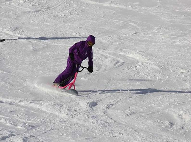 Image 0 - Snowscoot: Trend sportarten im Schnee