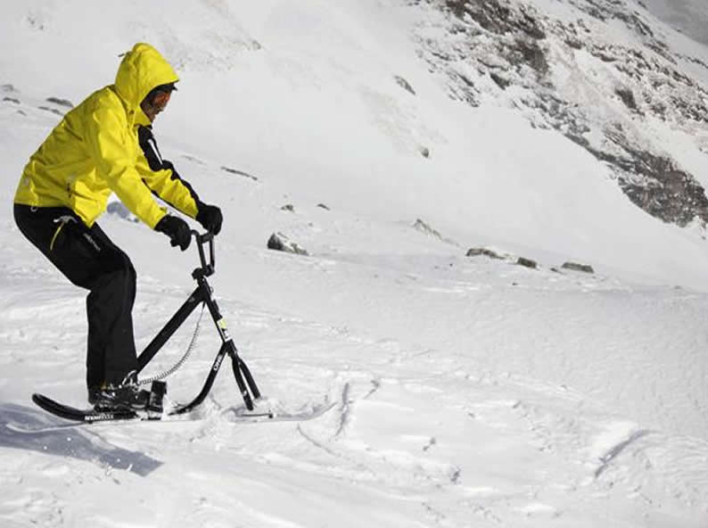 Image 2 - Snowscoot: Trend sportarten im Schnee
