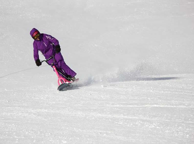 Image 4 - Snowscoot: trend sport on the snow
