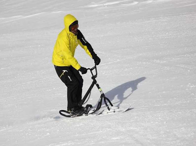 Image 3 - Snowscoot: trend sport on the snow