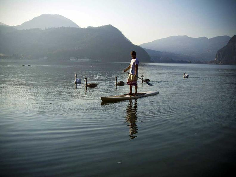 Image 0 - Stand Up Paddle in Ticino