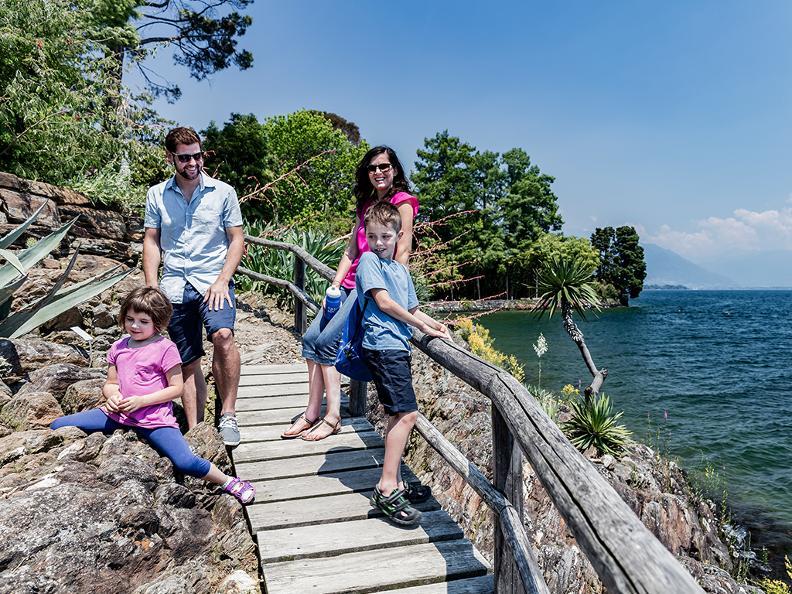 Image 1 - Schatzsuche auf den Brissago Inseln