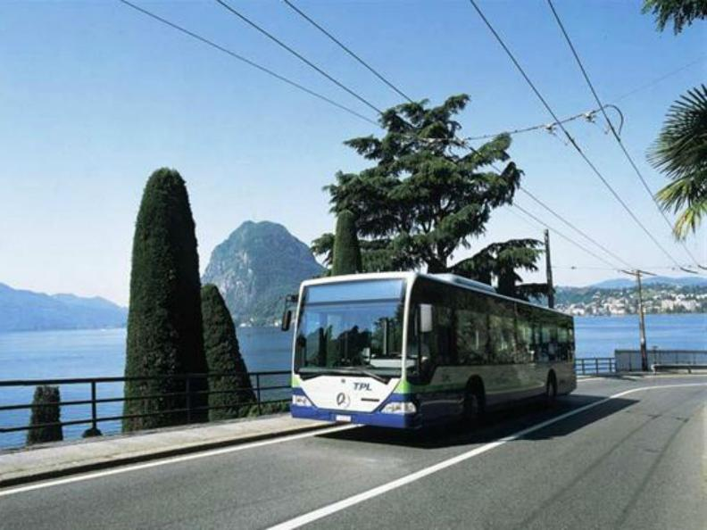 Image 1 - Public transportations in Lugano