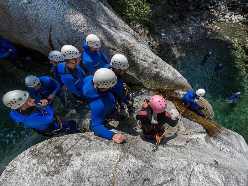 Image 4 - Ticino Adventures - canyoning