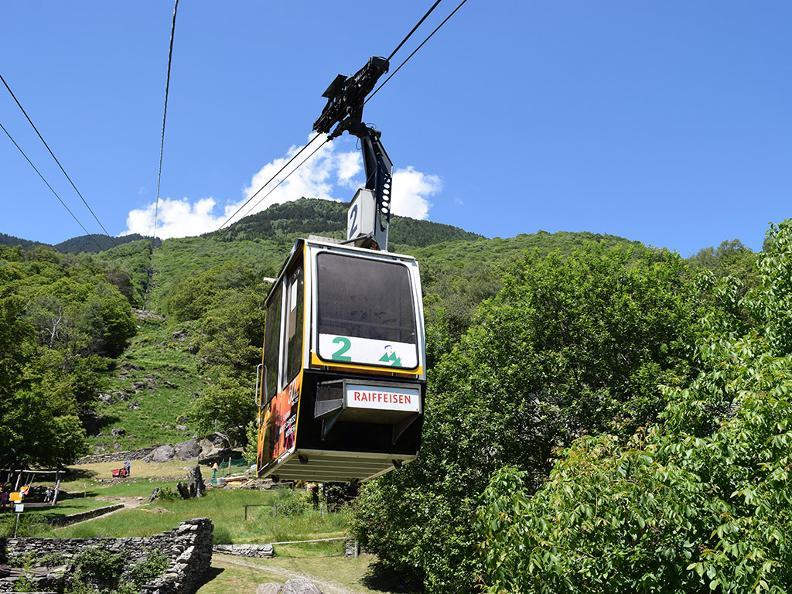 Image 0 - Funivia Monte Carasso-Curzútt-Mornera