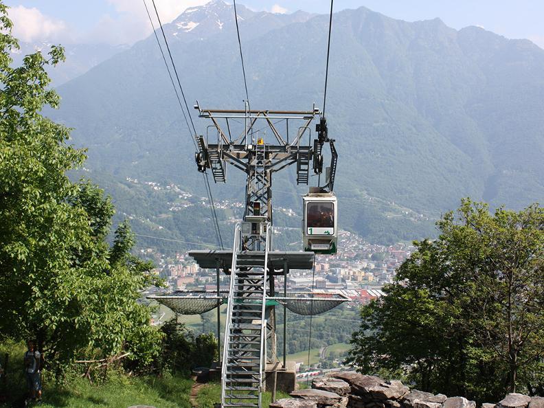 Image 2 - Funivia Monte Carasso-Curzútt-Mornera