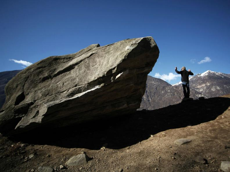 Image 6 - Bouldering in Ticino