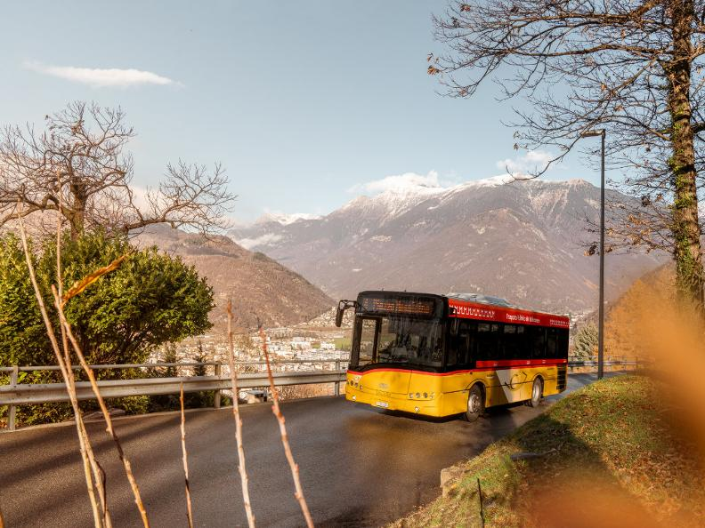 Image 7 - Getting around with the PostBus